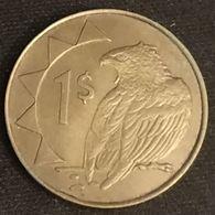 NAMIBIE - NAMIBIA - 1 DOLLAR 1993 - Bateleur Des Savanes - Aigle - KM 4 - Namibia