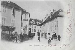 Ain - GEX - Place Du Pont - Gex