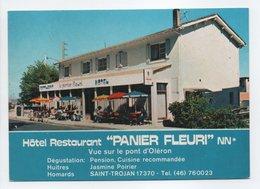 - CPM SAINT-TROJAN (17) - Hôtel Restaurant PANIER FLEURI 1986 - Edition CHAPEL 052 - - Sonstige Gemeinden