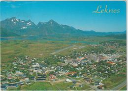 Norvège : Norge :  Leknes I Lofoten  : Vue - Norway