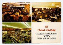 - CPM EPINAL (88) - Restaurant-Brasserie LE SAINT-CLAUDE 1986 - Photo CIM - - Epinal