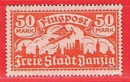 MiNr. 134 Xx   Deutschland Freie Stadt Danzig - Danzig