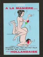 Illustrateur Dessin (A) Alexandre / Série : L'Amour à La Maniére ...Hollandaise /  Décoratif Ou Pas,c'est Pas .. - Alexandre
