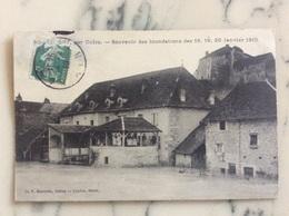 Rochefort,par Culoz.Souvenir Des Inondations Des 18,19,20 Janvier 1910. - Autres Communes