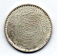 SAUDI ARABIA, 1/2 Riyal, Silver, Year 1354, KM #17 - Arabie Saoudite