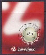 Austria / Osterreich - 2002 Osterreichische Lotterien, Lotto, M/S Fine Used - 1945-.... 2de Republiek