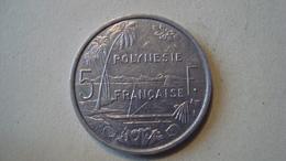 MONNAIE POLYNESIE FRANCAISE 5 FRANCS 2000 - Polynésie Française
