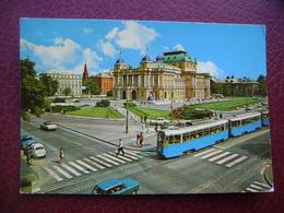 Jugoslavia-Croatia-Zagreb-1977  # A 627 - Tramways