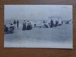 Blankenberge, La Plage --> Beschreven 1906 (afgestempeld In Blankenberge) - Blankenberge
