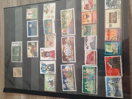 Timbres De Chine Oblitere - Collections (without Album)