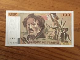 FRANCE 100 Francs - DELACROIX - Pick 154h - 1994 - H.263 - UNC / NEUF - 1962-1997 ''Francs''