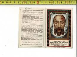 Kl 4459 - VRAIE IMAGE DE LA SAINTE FACE DE N.S. JESUS CHRIST - Imágenes Religiosas
