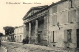 17 - Charente Maritime - Marennes - Le Temple - D 8736 - Marennes