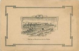 83 - TOULON - FABRIQUE DE STYLO - MANUFACTURE DE LA PALACE - RARE CPA PUB ILLUSTRATION - Toulon