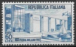 Italy - Italia 1952 Mi. No. 859 - 1946-60: Ungebraucht