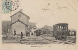 27 Cormeilles La Gare Avec Le Train -s17 - Frankreich