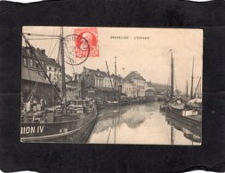 "93365    Belgio,    Bruxelles,   L""Entrepot,  VG  1910 - Maritime"