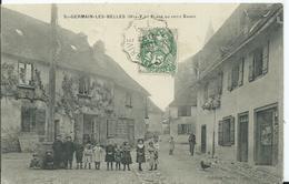 SAINT GERMAIN LES BELLES - Place Du Petit Barry - France
