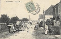 CHAUDENAY - Grande Rue - Autres Communes