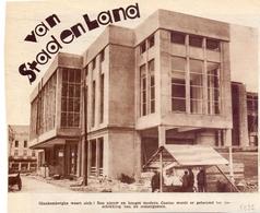 Orig. Knipsel Magazine Tijdschrift - Blankenberge Nieuw Casino In Aanbouw - 1932 - Vieux Papiers