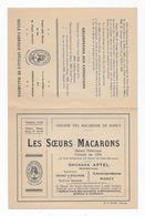 54  NANCY  LES SŒURS  MACARONS 21  X  13.5 TRES BON ETAT - Nancy