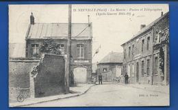 NEUVILLY   La Mairie     Animées         écrite En 1921 - Frankreich