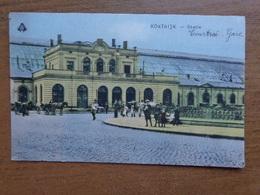 Kortrijk: Statie (Station, Gare) --> Beschreven 1919 - Kortrijk