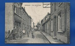 BONDUES   Rue De La Poste        Animées         écrite En 1921 - Other Municipalities