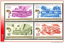 Congo 0689/92** Foire Internationale  MNH - Mint/hinged