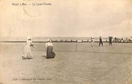 026 126- CPA - Belgique - Heist - Heyst - Le Lawn-Tennis - Heist