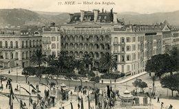 NICE HOTEL DES ANGLAIS - Non Classés