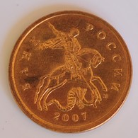 RUSSIA 10 KOPEKS 2007 - Albania