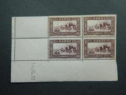 Maroc Yvert 138 Coin Daté 14.10.32 - Ungebraucht