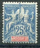 NOUVELLE-CALEDONIE ( POSTE ) : Y&T  N° 62 , TIMBRE  NEUF  AVEC  TRACE  DE  CHARNIERE , A  VOIR . M 3 - Neufs