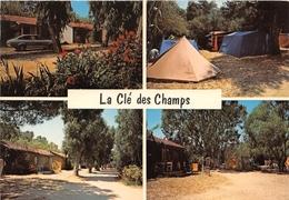 CPM - CORSE - CALVI - Camping LA CLE DES CHAMPS - Multivues - Calvi