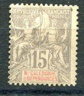 NOUVELLE-CALEDONIE ( POSTE ) : Y&T  N° 61 , TIMBRE  NEUF  AVEC  TRACE  DE  CHARNIERE , A  VOIR . M 3 - Neufs