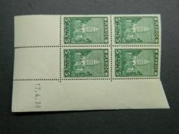 Maroc Yvert 166 Coin Daté 17.4.39 - Nuevos
