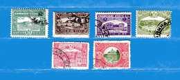 (3) CHARKHARI- 1931 ° - 75° Série Courante- Yvert. De 21 à 26. Usati -Used. - Charkhari