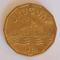 URUGUAY 20 CENTIMOS 1981 - Uruguay