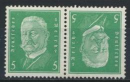 Deutsches Reich Zusammendruck K10 ** Postfrisch - Se-Tenant