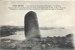 ILE MELON, Entre PORSPODER Et LANILDUT,  Pas Courant - Otros Municipios