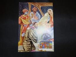 "BELG.2001 3044 Mcard Fdc ( Tienen )  : "" Kerstmis / Noél  "" - FDC"