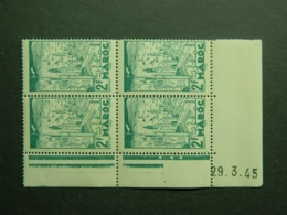 Maroc Yvert 230 Coin Daté 29.3.45 - Nuevos