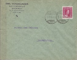 Luxembourg  -  Lettre - 7.7.1916  -  Emil Dondelinger , Automobile , Esch-Alzette - Briefe U. Dokumente