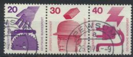 BRD Zusammendruck W41 O - [7] République Fédérale