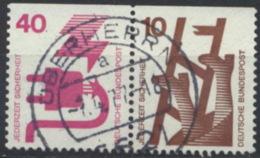 BRD Zusammendruck W47 O - [7] République Fédérale