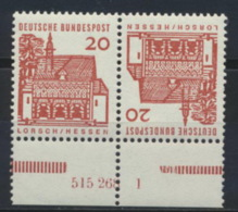 BRD Zusammendruck K6 HAN 515268 1 ** Postfrisch - [7] République Fédérale
