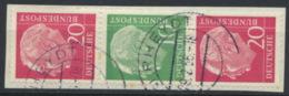 BRD Zusammendruck S34 O Briefstück - [7] République Fédérale