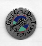 Pin's  Ville, Sport  Golf  Club  Des  Templiers  à  Ivry-le-Temple  ( 60 ) - Golf