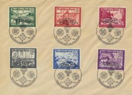 Deutsches Reich 773/78 Auf Blankobrief Sonderstempel München - Storia Postale